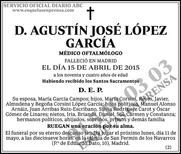 Agustín José López García